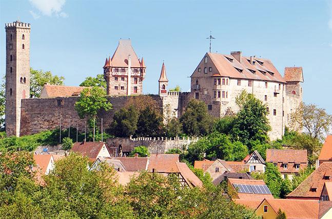 Historische Burg Abenberg